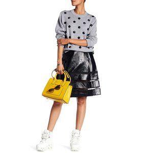 Marc Jacobs NWT PU Pleated Skirt